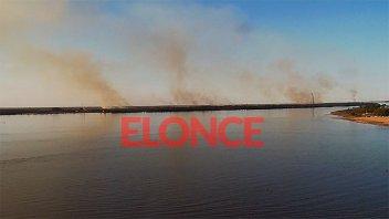 Video y fotos: Sofocan el incendio que estuvo 48 horas activo cerca de Ruta 168