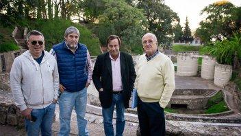 Varisco anunció que se reconstruirán parte del Anfiteatro Héctor Santángelo