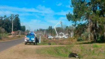 Operario falleció tras recibir una descarga eléctrica mientras cambiaba cables