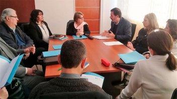 Se reunió la Mesa de Diálogo de la Enseñanza Privada