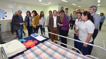 Inauguraron ampliación de unidad de terapia intensiva pediátrica del Masvernat