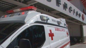 Foto del interior de una ambulancia busca generar conciencia a conductores