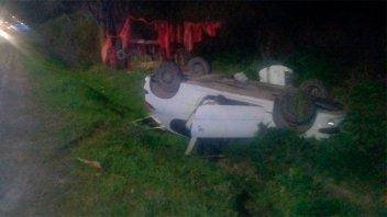 Choque entre dos vehículos en Avenida Almafuerte: dos mujeres hospitalizadas
