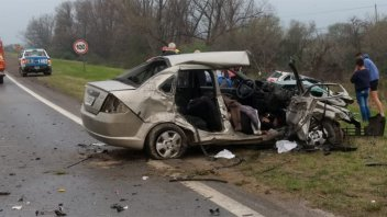 Suman dos las víctimas fatales por la tragedia vial registrada sobre Ruta 12
