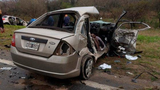 Se conocieron las identidades de las víctimas de la tragedia vial en Ruta 12