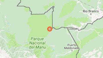 Fuerte sismo sacudió la frontera de Perú con Brasil