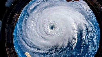 Impresionantes fotos del huracán