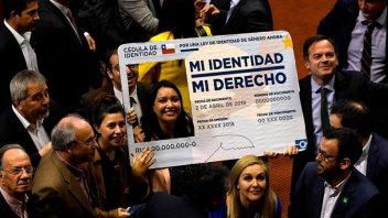 El Congreso de Chile aprobó la ley de identidad de género