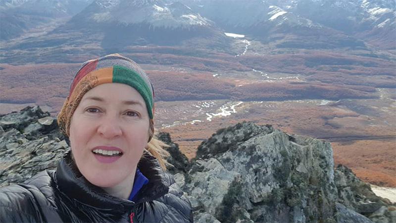 Claudia Betina Gaitán falleció tras caer en una grieta por una avalancha.