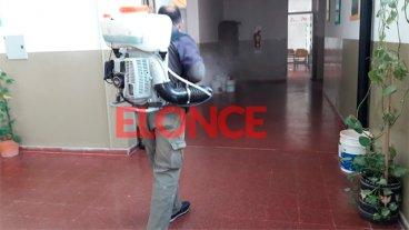 Sigue la desinfección: El listado de escuelas en las que no hay clases en Paraná