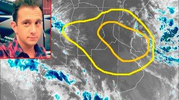 Alerta por tormentas: Meteorólogo advierte sobre