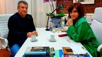 Urribarri se reunió con Cristina: