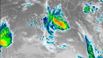 Ratifican que las tormentas podrían afectar sólo a una zona de Entre Ríos