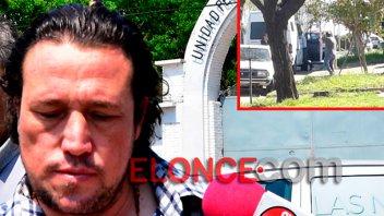 Silvio Díaz ya pasa los fines de semana fuera de la cárcel de Paraná