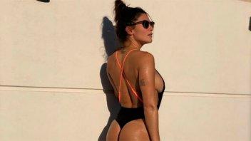 Ivana Nadal volvió a la soltería y mostró en una foto su costado más sensual