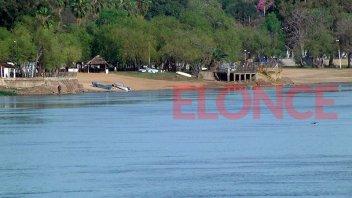 La bajante del río pone en riesgo la temporada de playas en la costa del Paraná