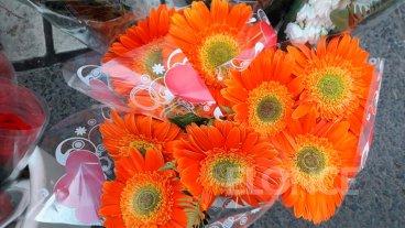 Ventas de floristas en el día de la Primavera: