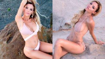 La sensual producción de fotos de Evangelina Anderson