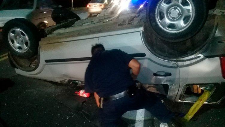 Confirmaron la identidad de mujer fallecida al volcar un vehículo