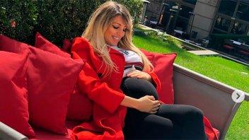 El susto de Vicky Xipolitakis durante su sexto mes de embarazo