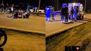 Varios accidentes viales con personas heridas en Paraná y zona
