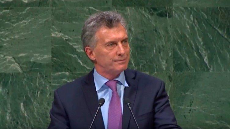 Macri ante ONU: Reclamó por Malvinas y habló del
