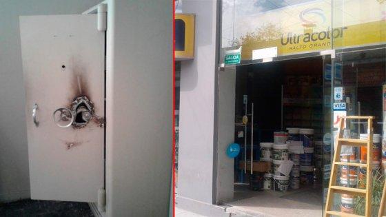 Robaron más de un millón de pesos de la caja fuerte de un comercio céntrico