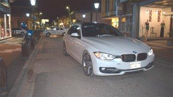 Discusión de tránsito: Video muestra cuando un BMW atropella a una pareja