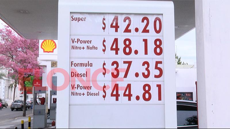 Los precios en Shell