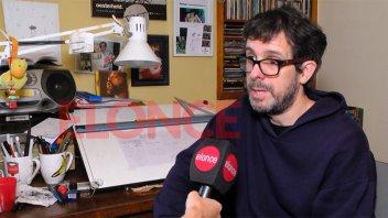 Maxi Sanguinetti sobre la obra Sábat:
