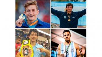 Cuatro entrerrianos competirán en los Juegos Olímpicos de la Juventud