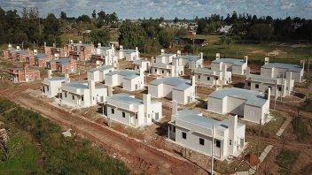 Sortearán 100 viviendas que IAPV construye en Concordia