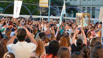 Se celebra la Fiesta Patronal a la Virgen del Rosario: Habrá procesión y misa