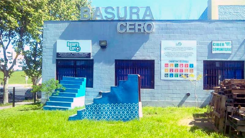 El centro Basura Cero donde se reciclan los elementos enviados desde Paraná