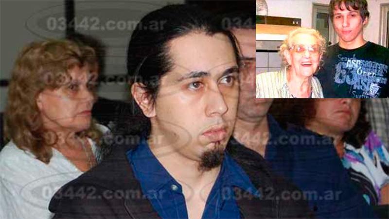 Martínez torturó y asesinó a una abuela y su nieto