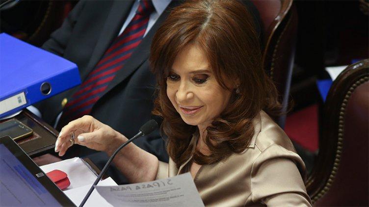 Cristina antes del inicio del juicio en su contra: