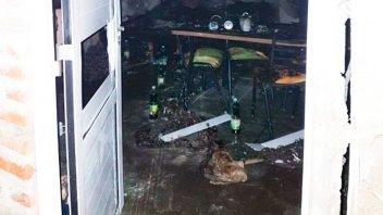 Horror en Chaco: discutió con su mujer, explotó una garrafa y mató a su hijo