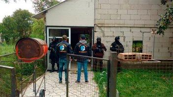 Allanaron una casa por venta de droga