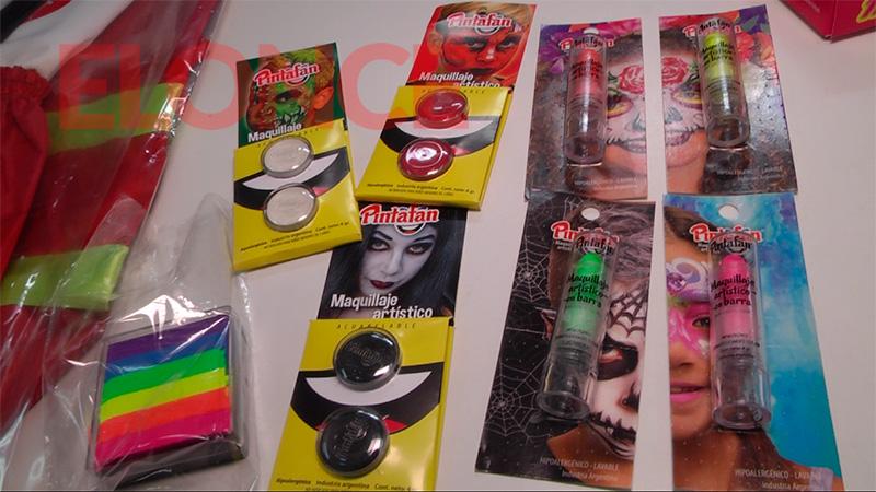 Maquillajes de 35 a 80 pesos