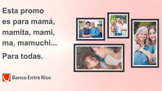 Día de la Madre: Descuentos con tarjetas de crédito del Banco Entre Ríos