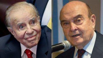 Confirman condena contra Menem y Cavallo por pago de sobresueldos