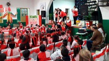 El jardín Caritas Dulces, de festejo, por sus 50 años