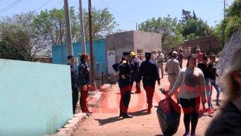 Desbarrancamiento: desalojaron a las familias que vivían en la zona de riesgo