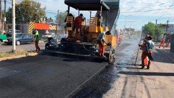El municipio dio detalles de las obras para mejorar la trama vial