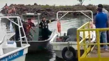 Fuerzas paraguayas irrumpieron en concurso de pesca en la costa argentina