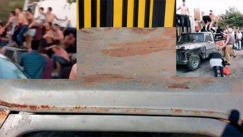Denuncian que vándalos destruyeron camioneta a la salida de boliche en Paraná