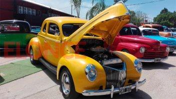 Fotos: Los autos antiguos brillaron en La Paz