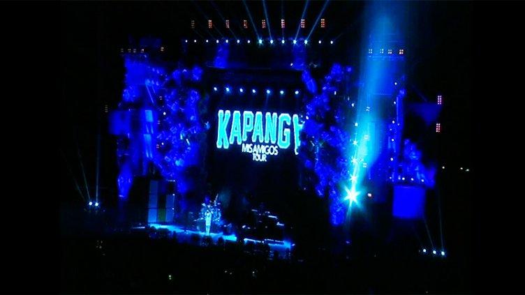 Reviví el show de Kapanga en la Fiesta de Disfraces