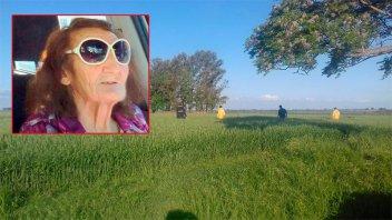 Hallaron sin vida a la mujer buscada en zona rural de Gualeguaychú