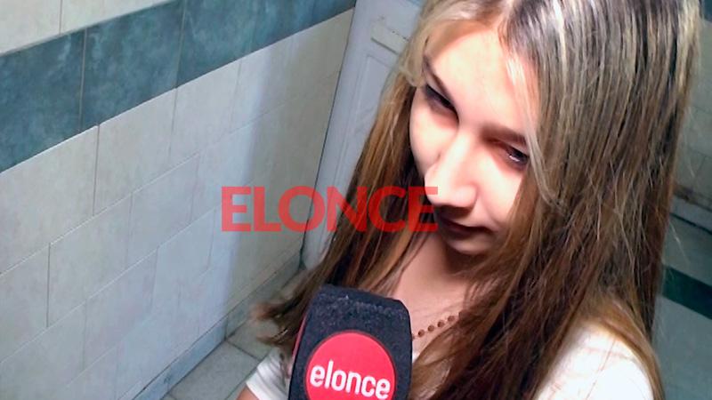 Nahir Galarza fue trasladada al hospital y habló ante la cámara de Elonce TV
